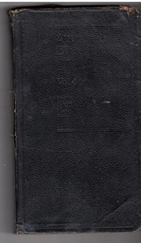 Official Automobile Blue Book 1924 Volume Four. Standard Touring Guide