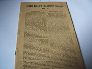 Scottish Songs: Aunt Kate