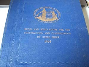 Rules and Regulations for the Construction and