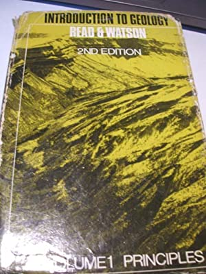Introduction to Geology Vol.I Principles: H.H.Read