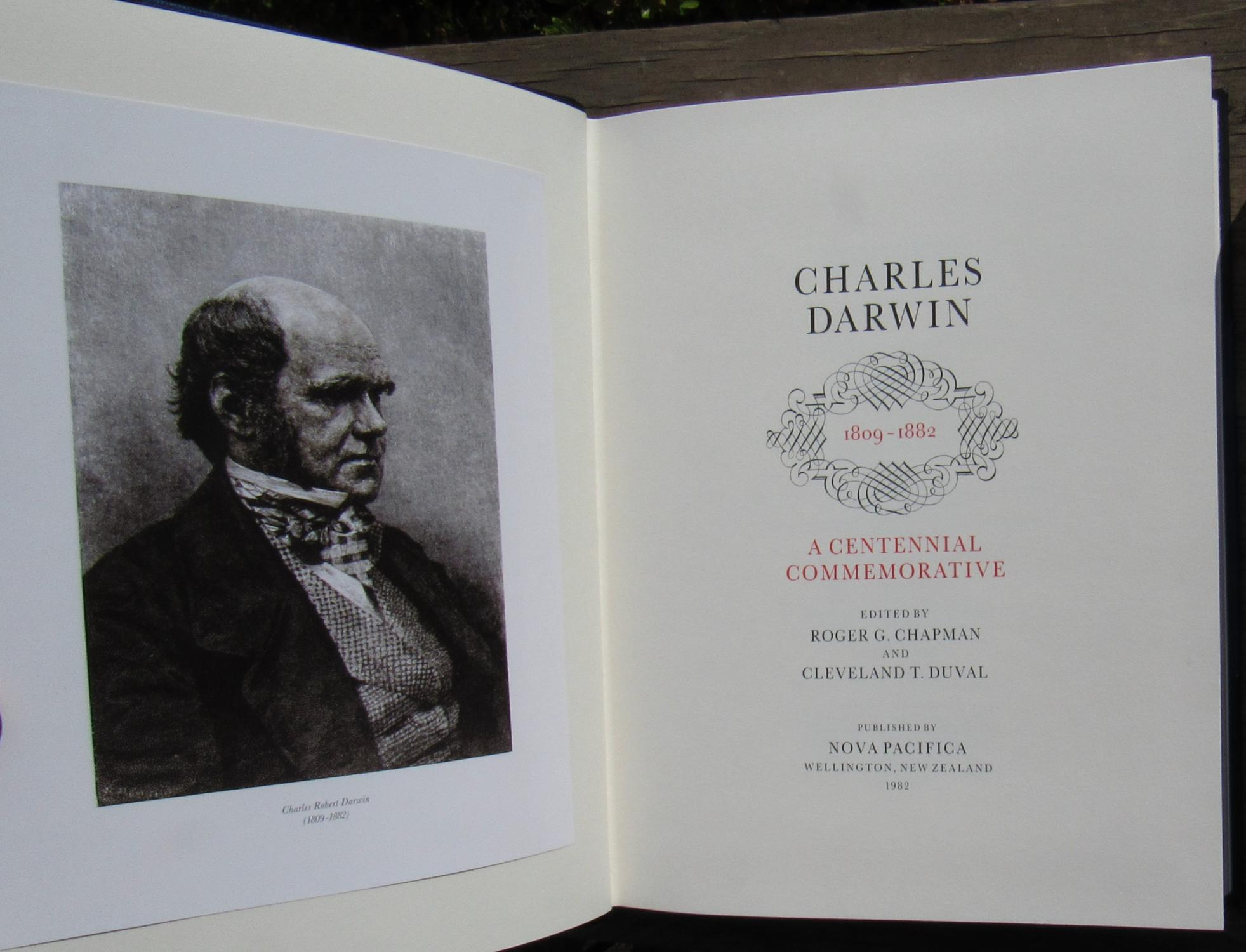 Charles Darwin 1809 1882 A Centennial