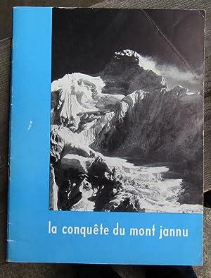LA CONQUETE DU MONT JANNU - SIGNED: Terray, Lionel &