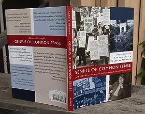 Genius Of Common Sense Jane Jacobs and: Lang, Glenna &