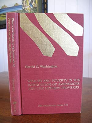 Wealth and Poverty in the Instruction of: Harold C. Washington