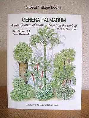 Genera Palmarum: A Classification of Palms Based: Natalie W. Uhl