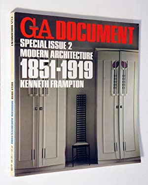 GA (Global Architecture) Document. Special Issue 2: Kenneth Frampton; Yukio
