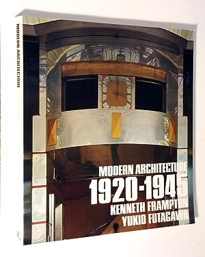 Modern Architecture 1920-1945: Kenneth Frampton; Yukio