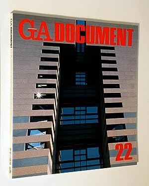 GA (Global Architecture) Document. Issue 22: Yukio Futagawa (editor