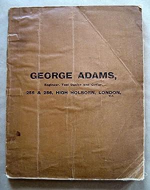 Trade Catalogue: GEORGE ADAMS, 255 & 256
