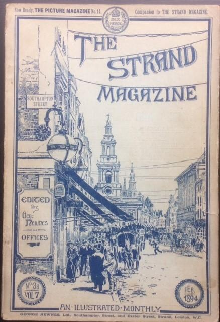 The_Strand_Magazine_February_1894__Alexander_Dumas__Arthur_Morrison__Zig_Zag_at_the_Zoo_Arthur_Morrison_Assez_bon_Couverture_souple