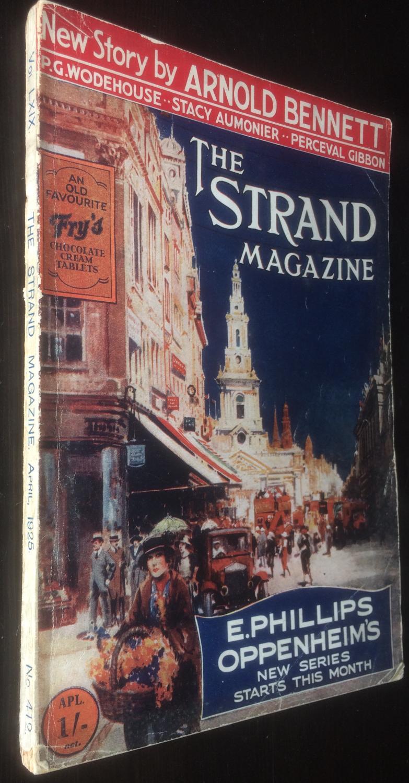 The_Strand_Magazine_April_1925_P_G_Wodehouse__Arnold_Bennett__Phillips_Openheim_P_G_Wodehouse__Arnold_Bennet__Phillips_Openheim_Assez_bon_Couv