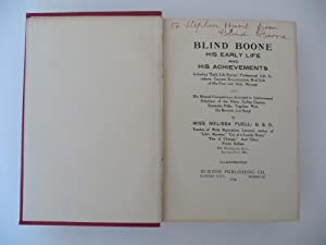 "Blind Boone, His Early Life and His Achievements: Including ""Early Life Stories;"" ..."