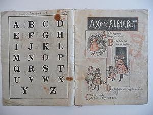Merry Christmas A B C, (cloth children's book)
