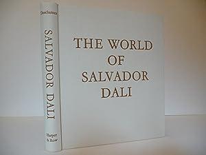 The World of Salvador Dali, (Signed by Dali): Descharnes, Robert