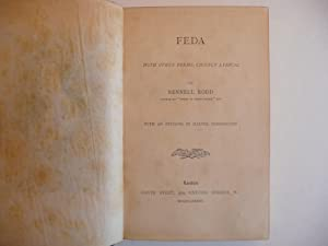 Feda with Other Poems, Chiefly Lyrical: Rodd, Rennell