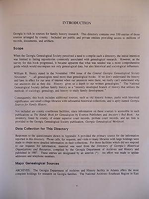 Georgia Sources for Family History: Warnock, Robert Holcomb