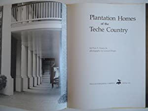 Plantation Homes of the Teche Country: Stahls, Paul F., Jr.