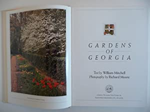 Gardens of Georgia, (Special Limited Edition, Signed and Numbered): Mitchell, William Jr.