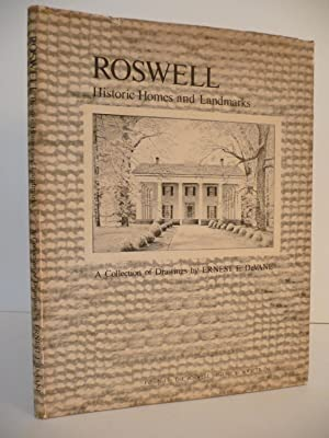 Roswell: Historic Homes and Landmarks, (Signed): Martin, Clarece