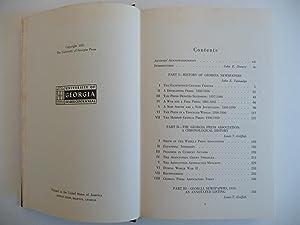 Georgia Journalism 1763-1950: Griffith, Louis Turner and Talmadge, John Erwin