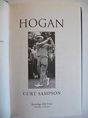 Hogan, (Signed): Sampson, Curt