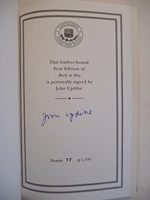 Bech At Bay: A Quasi-Novel, (Signed): Updike, John