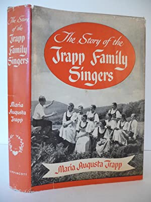The Story of the Trapp Family Singers, (With Signed Post Card): Trapp, Maria Augusta