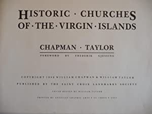 Historic Churches of the Virgin Islands: Chapman, William and Taylor, William