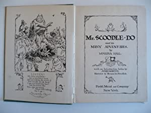 Mr. Scoodle-Do and His Many Adventures, (Inscribed): Hall, Minerva