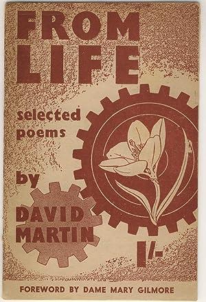 From Life. Selected Poems of David Martin: Martin, David