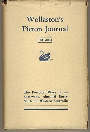 Wollaston's Picton Journal (1841-1844) : Being Volume: Wollaston, John Ramsden