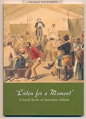 Listen for a Moment': A Small Book: Ford,Tom, Selected by