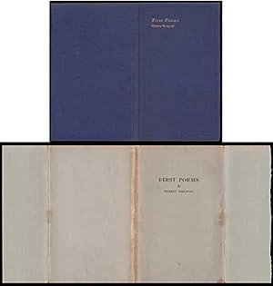First Poems: Ridgway, Sydney