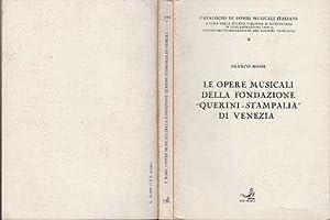 """Le Opere Musicali Della Fondazione """"Querini Stampalia"""" Di Venezia: Rossi, Franco"""