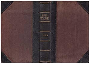 Bible Christian Magazine: For The Year 1879, Being A Continuation Of The Arminian Magazine. Vol XV ...