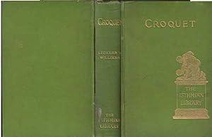 Croquet: Williams Leonard B