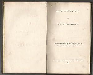 The Effort: Herbert, Fanny