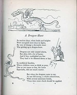 Here Be Dragons : A Book of Children's Verse: Evans F Gwynne