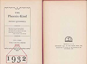 Phoenix Kind: Quennell, Peter
