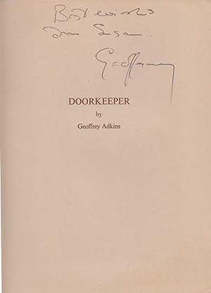 Doorkeeper : Poems By Geoffrey Adkins: Adkins, Geoffrey