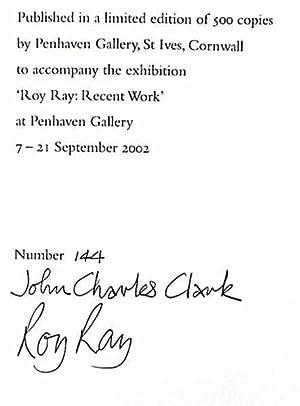 Roy Ray : Breathing Life Into Material: Clark, John Charles