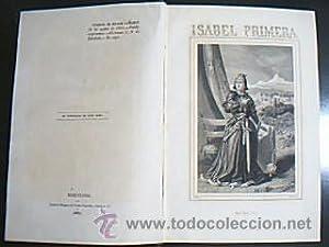 Isabel Primera¿. Orellana, Francisco José. Barcelona, Biblioteca de Ambos Mundos. A&...