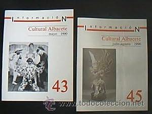 Cultural Albacete. VV.AA. Revistas originales de la 1ª época del Cultural Albacete: ...