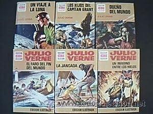 Colección HISTORIAS SELECCIÓN. Serie JULIO VERNE. Lote con los siguientes nú...
