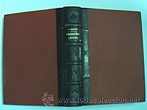 Manual de Medicina Legal. MARTIN, Etienne. Salvat: MARTIN, Etienne