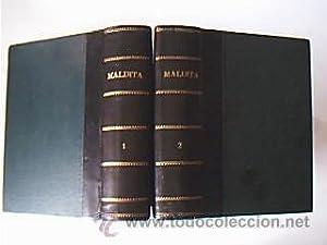 Maldita. Val, Luis de. Editorial Castro. Sin fecha (sobre 1890). 2 volúmenes: Obra completa
