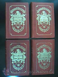 Lengua francesa: Bibliotheque Rose Illustree. Paris. Librairie Hachette. Finales XIX.VV.AA.