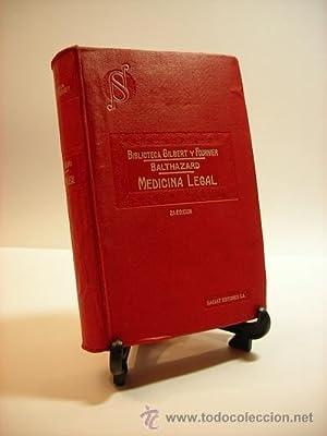 Manual de Medicina Legal, por el Dr.: Dr. V. Balthazard