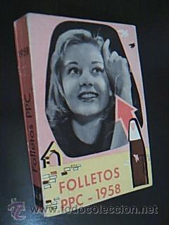 FOLLETOS PPC 1958. Volumen IV. Un ejemplar