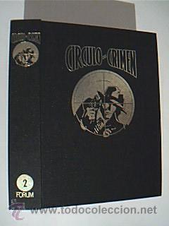 Colección Círculo del Crimen. Ediciones Forum. VOLÚMENES 2-3-4-5-6-7